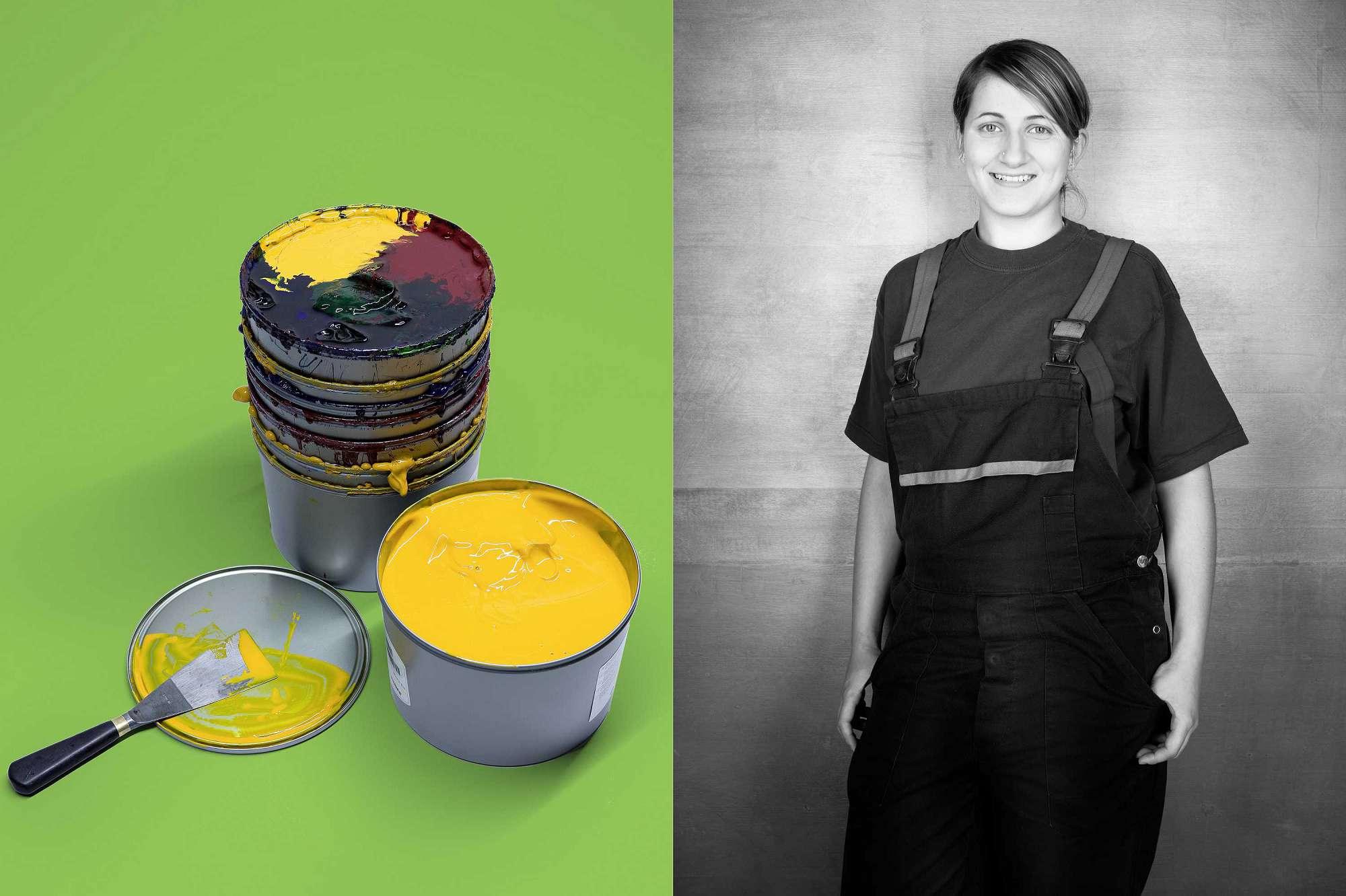 Portrait | Berufsschülerin des BBW München
